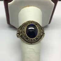 1957 10K Yellow Gold Vintage University of Florida Class Ring Size