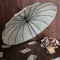 Vintage Pagoda Parasol Sun/Rain Proof Umbrella Wedding Bride Ornament Purple