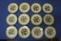 Royal Albert Canton Bone China Bread & Butter plates,Lot of 12 plus a Tea cup