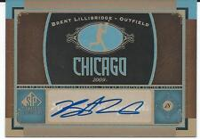 2012 MLB Baseball Sp Signature Edition UD #CHW7 BRENT LILLIGRIDGE Chicago