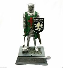 Collectible Baron's Strong Brew Medieval Knight Maceman Crusader Lighter Display