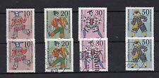 Bund MiNr. 650 - 653  Wohlfahrt: Marionetten  Postfrisch gestempelt