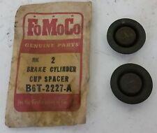 NOS Ford Brake Cylinder Cup Spacer PAIR B6T-2227  FoMoCo Wheel Cylinder 1 1/2