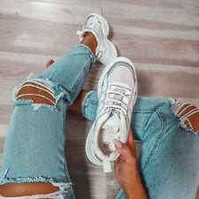 Damen White Sneaker Weiß Gr. 36-41