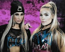 CARMELLA & NATALYA WWE WOMENS DIVA SIGNED AUTOGRAPH 8X10 PHOTO WRESTLING INK COA