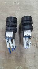 LOT OF 2 IDEC LW-C3 3 POSITION KEY SWITCHES   W157