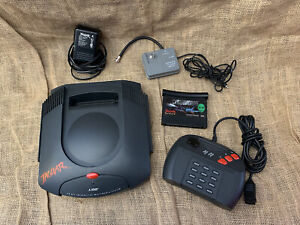 Atari Jaguar Console System 1 video Game, Controller, Power Cable TESTED!!!!