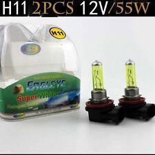 Hyper Golden Yellow Eye Halogen HID Fog Light Daylight Bulbs H11 55W pair 1