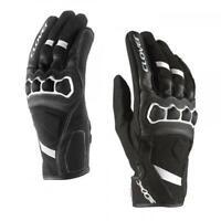 Handschuhe Von Motorrad Verstärkt CLOVER AIRTOUCH-2 Schwarz/Weiß
