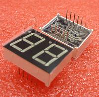 50PCS 0.56 inch 2 digit Red Led display 7 segment Common cathode