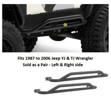 Jeep SRC Rocker Guard Side Steps for 1987-06 Jeep YJ and TJ Wrangler