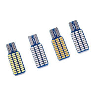 1x T10 3014  W5W 33 SMD LED Canbus Car Door Light Width Lamp Bulb colour