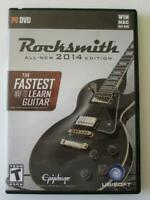 Rocksmith 2014 Edition Fastest Way To Learn Guitar (Win/Mac) Has Key; No Cable
