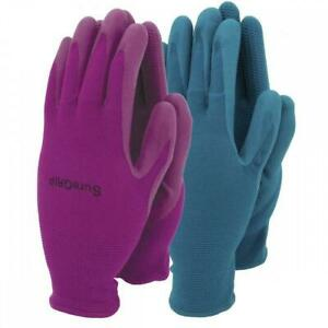 Town & Country Suregrip Gardening Gloves - Light Nitrile Protection - Twin Pack