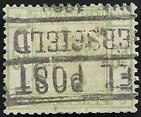 1884 QV SG194 6d Dull Green HK Used CV £240