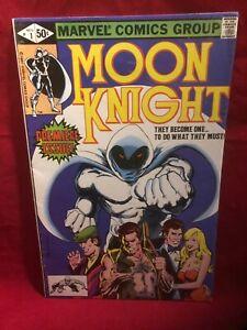 Moon Knight #1 1st Appearance Of Khonshu/ Bushman  Origin Story
