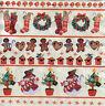4 Motivservietten Servietten Napkins Tovaglioli Weihnachten (364)