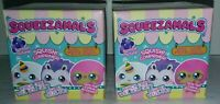 Squeezamals Scented Plush Blind Box Lot of 2 Series Pets Squishy C5