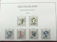 WEST GERMANY 1991-92: famous women 6 stamps MNH**VF complete series