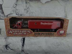 Ertl Collectibles Anheuser-Busch 1948 Peterbilt Die Cast Metal Locking Coin Bank