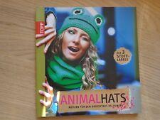 Mütze Animal Hats Fachbuch mit Anleitungen Häkeln Mützen Hobby Anleitung Trend