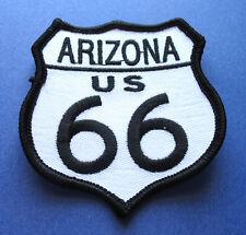 LEGENDARY ROUTE 66 ARIZONA U.S. HIGHWAY BIKER IRON ON PATCH