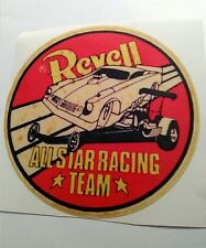 Revell all star racing team sticker decal hot rod rat rod vintage look drag race