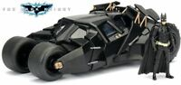 Batmobile The Dark Night 2008 con Batman - Scala 1:24 Die Cast - Jada Toys 98261