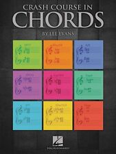 Crash Course in Chords Educational Piano Library Book NEW 000296864