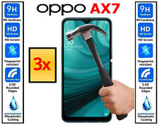 3x Genuine 100% TEMPERED GLASS Ultra HD Screen Protector Cover For OPPO AX7