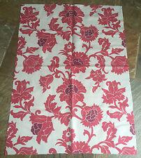 "Osborne & Little Fabric Blind/Cushion Cover - Pink Peony Size 35 x 46"""
