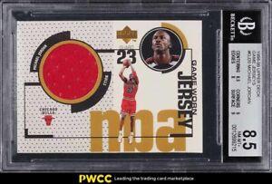 1998 Upper Deck Game Jersey Michael Jordan PATCH #GJ20 BGS 8.5 NM-MT+