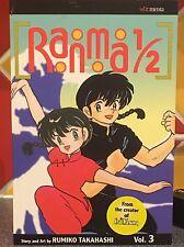 Ranma 1/2  Volume 3 Takahashi Rumiko  Paperback Book
