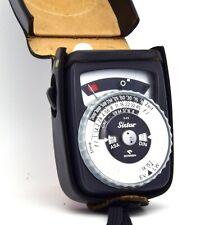 Gossen Sixtar Belichtungsmesser Light Meter Lichtmesser + Tasche (A-395)