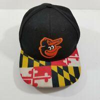 Baltimore Orioles Maryland Flag Cap Hat Adjustable Snapback MLB