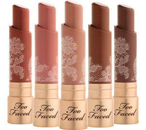 Too Faced Natural Nudes Lipstick w/ Coconut Butter **CHOOSE SHADE** HTF