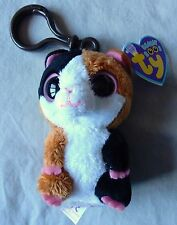 NIBBLES the Hamster  KEY CLIP - TY Beanie Boo - NEW with MINT TAGS