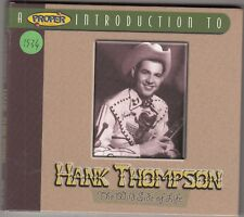 HANK THOMPSON - the wild side of life CD