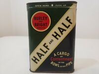 Vintage Burley & Bright Tobacco Tin