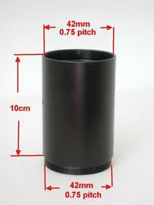 M42X0.75 Microscope Eyepiece Camera Lens Extension Tube 42mm Adapter