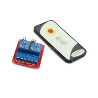 New 12V 2CH Wireless Remote Control Switch Infrared Control Module IR Receiver