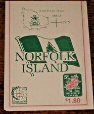 Norfolk Island :- Booklet MNH  SB7 Singapore issue (67)