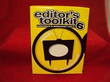 """Digital Juice Editors Toolkit #6 """"Corporate & Broadcast Tools"""" 10 DVD Set"""