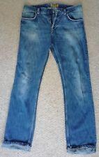 CK Calvin Klein Denim Mens Jeans CK39 Used W32 L34 Distress style