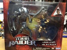 Lara Croft Tomb Raider- Lara Croft vs.S.I.M.O.N. Figures