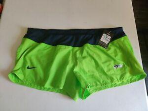 Women's Nike Dri-Fit Seattle Seahawks Shorts Size 2XL