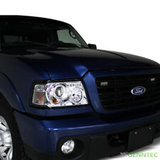 For 2001-2011 Ford Ranger Twin Halo LED Pro Headlights Pair Head Lights Lamp