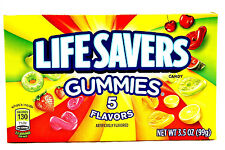 Lifesavers Gummies 5 Flavors ( 99g ) USA import FREE UK Delivery