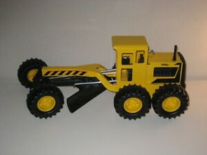 "MINT! Tonka Road Grader 2012 Hasbro Construction Vehicle 92510 Yellow 18"" Long"