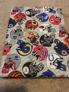 NFL Sports Teams Photo Album Hand Crafted In Las Vegas Brand New